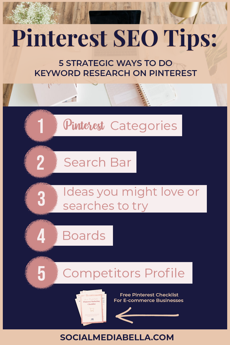 5 ways to do keyword research on Pinterest