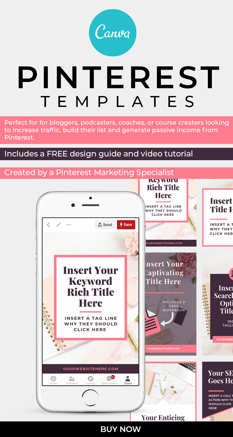 pinterest marketing templates
