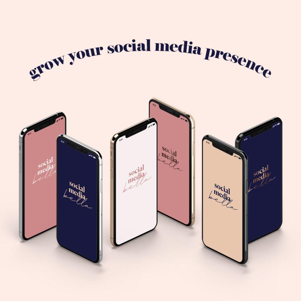 social media bella