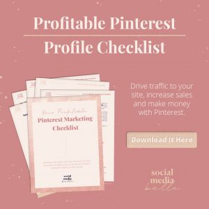 pinterest marketing checklist