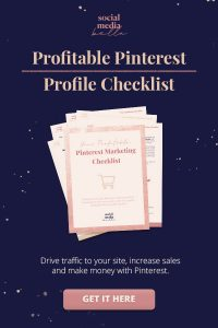 Pinterest marketing checklist for ecommerce