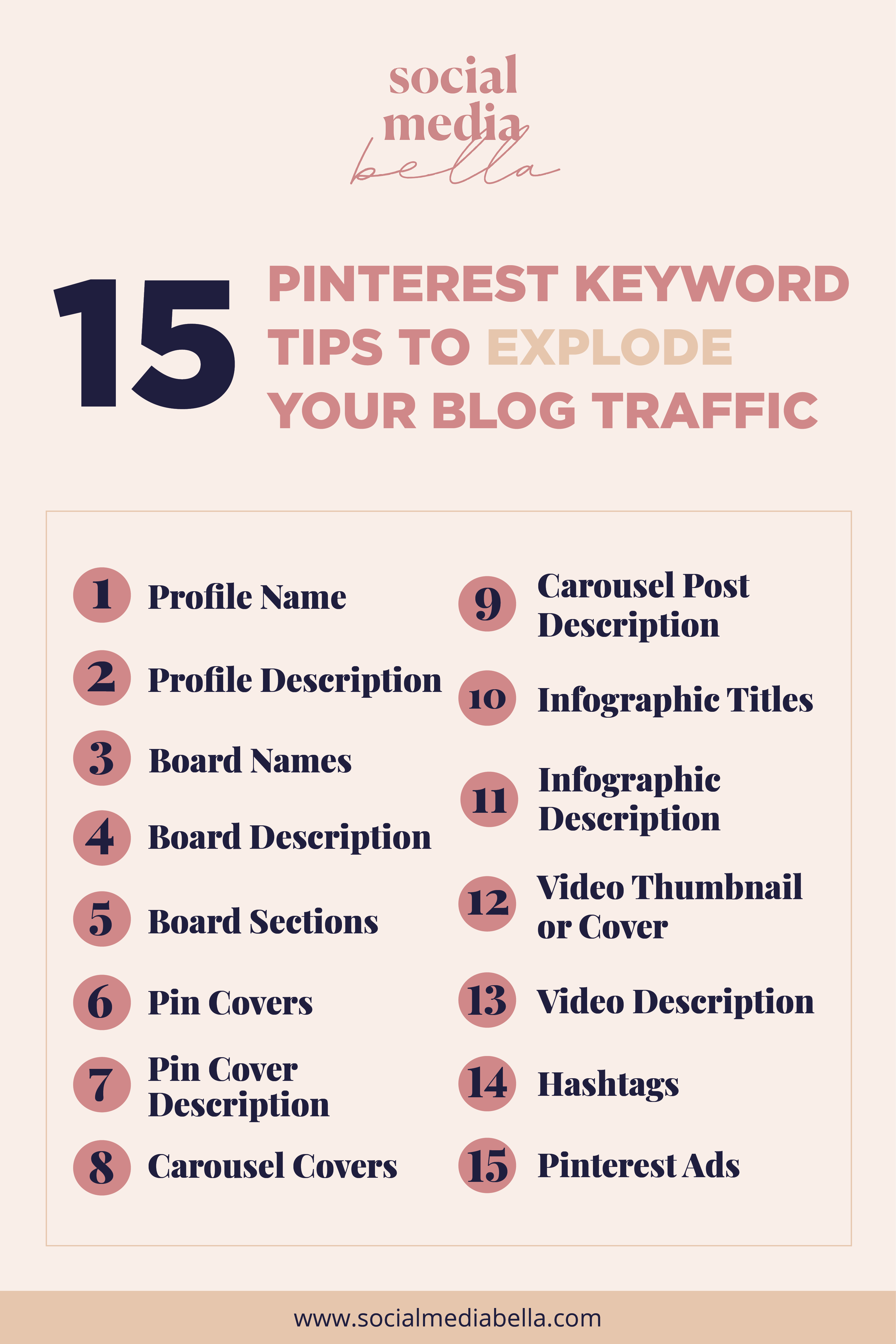 Pinterest marketing tips for ecommerce businesses